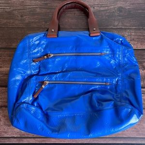 LOLLA PALOOZA   Oversized leather tote bag